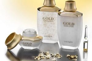 Pflege mit Gold