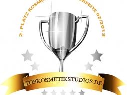 Auszeichnung Topkosmetik Webseite