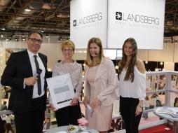 Auszeichnung des BellaDonna Kosmetikstudios auf der Beauty Messe in Düsseldorf
